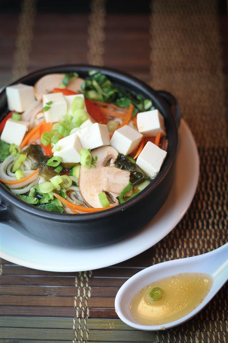Cure Your Cold Asian Noodle Soup