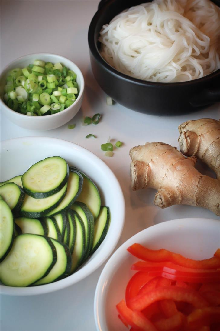 Cure a Cold Asian Noodle Soup