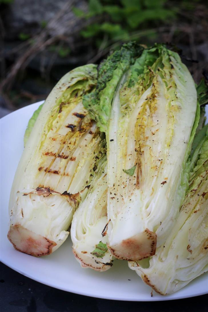 Grilled Romaine 1
