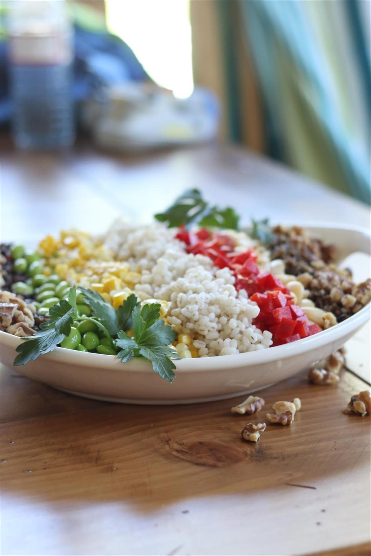 Protein Packed Summer Salad